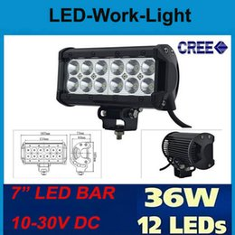 Wholesale 2pc high power CREE LED inch W waterproof LED Work Light bar offroad driving Lamp V V for Jeep SUV ATV Off road Truck