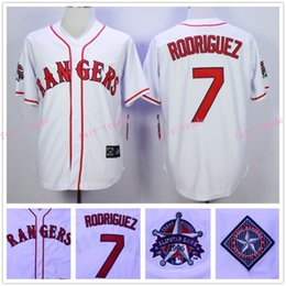 Wholesale Ivan Rodriguez Jersey All Star Patch Texas Rangers Home Jersey White