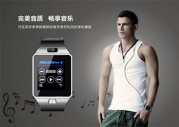 Wholesale Bluetooth Sports Smartwatch DZ09 Smart Watch Mini Phone Healthy Wristwatch with Camera MP quot Screen SMS GSM