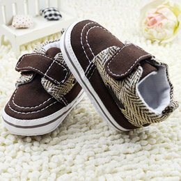 Wholesale Cute Toddler Baby Boys Girls Cotton Crib Shoes Soft Sole Prewalker Casual Sneaker