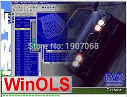 Wholesale new winols WinOls unlock patch can install in many computers damos files Gb unzip