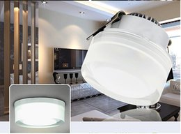 AC90~260V 3W LED Ceiling Light with Round Acrylic Mask, Ultra Bright LEDs 100~110lm W, Qualified LED Recessed Ceiling Lamp