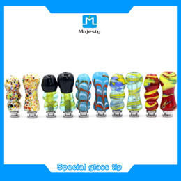Wholesale 2016 ecig glass drip tips 510,featured special drip tip fit all atomizers Free shipping,unique drip tips