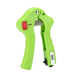 Wholesale Hand Grip Strengthener Exerciser Mechanical Counting Easy Adjustable Gripper Weights For Exercise Equipment Finger Grips Strengthening