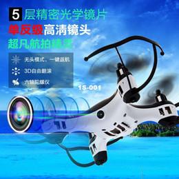 Promotion drones de caméras aériennes Hélicoptère de contrôle à distance caméra aérienne drone quadrocopter retour incassables un des principaux magasins d'usine