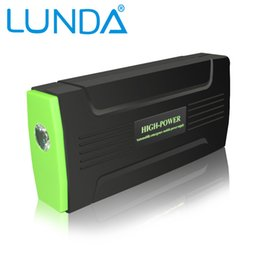 Wholesale Original LUNDA mAh Portable Car Jump Starter and Charger for Electronics Mobile Device Laptop Auto Engine Emergency Battery