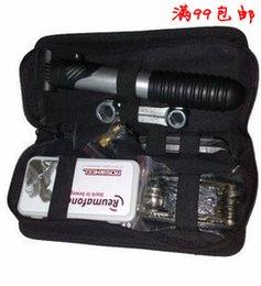 Multifunctional combination toiletry kit ride bicycle repair tools pump tire