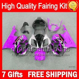 7gifts+Bodywork Purple black For HONDA VTR1000 RC51 SP1 SP2 00-07 46LC4 VTR1000R RTV1000 2000 2001 2002 2003 07 Silver VTR 1000 Fairing Kit