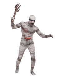 Wholesale-Lycra Spandex mummy costumes zentai suits halloween costumes cosplay