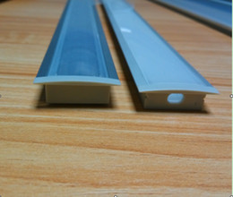 2.5M PCS 100M LOT Free shipping aluminum profile for led strip,frosted transparent cover with fittings mounted by screws