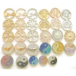 Wholesale Your Style Assorted Frame Coin fit Living Locket Mi Moneda Jewelry Random delivery
