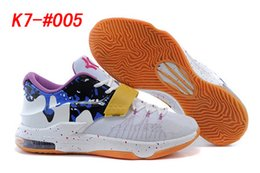 Wholesale Cheap KD7 PBJ Peanut Butter And Jelly Mens Basketball Shoes KD VII Mens Kevin Durant Sports Athletic Sneakers
