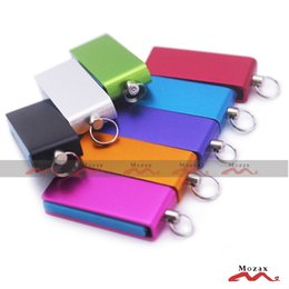 Wholesale 1PCS GB Memory FLash USB Drive Thumb Stick Pendrive Mini Cute Simple Design Metal