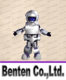 Wholesale Professional sales EMS android robot mascot costume adult size LLFA4128F