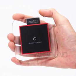 Promotion chargeur lumia Qi Chargeur sans fil Ultra-Slim Chargeur sans fil pour Samsung S6 / S6 Edge, Nexus 4/5/6/7 (2013), Nokia Lumia 920, LG Optimus Vu2,