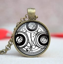 Wholesale New Arrival Necklace Doctor Who Time Lord Jewelry Dome Time Machine Collares Fashion Picture Necklaces