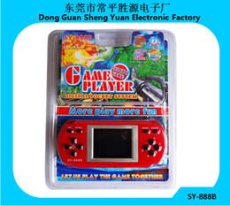 Juegos para niños en venta-Niños niños regalo Sy-888b 288 juegos Nostálgico infancia pantalla de color reproductor de consolas de juegos de mano
