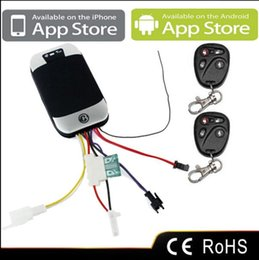 Wholesale New GPS D GPS Tracker Vehicle Car GPS GSM GPRS SMS Remote Control Fuel Sensor Real time Phone Tracking Q4023A