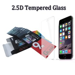 Wholesale Tempered Glass Screen Protector Film D mm H for iphone6 plus galaxy S5 samsungNote Protecter Screen Film Perfect Protect