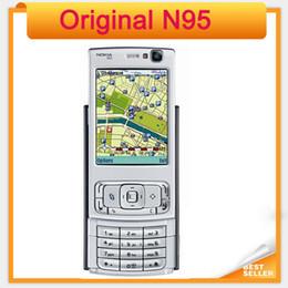 Original N95 Nokia Mobile phone 5MP 3G WIFI GPS Refurbished Cellphone