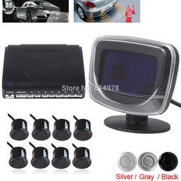 Wholesale Big Sale Weatherproof Rear Front View Car Parking Sensor Sensors Reverse Backup Radar Kit System with LCD Display Monitor