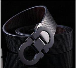 Wholesale Luxury Belts Brands - Wholesale-Fashion designer Brands High Quality Men Belt Women Luxury Belts Gold Buckle Hot Sale Belts Free Shipping belts luxury