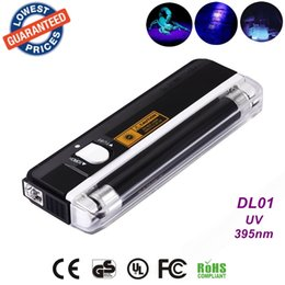 Wholesale AloneFire DL01 UV light portable uv led flashlight for urine detector portable led flashlight