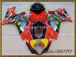 Motorcycle fairing kit for SUZUKI GSXR 1000 07 08 GSX-R GSXR 1000 K7 2007 2008 Fashion Red colorful disguises bodykit SK70
