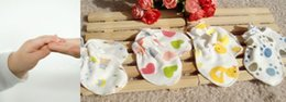 Wholesale 10pcs USA Luvable Freinds Baby Mittens Gloves Full Finger Gloves Boys Girls Baby gloves Infant Gloves