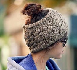 Wholesale 2015 Fashion Winter Warm Women Girls Crochet Twist Knitted Headband Ear Winter Warmer Hair Band Hat Hair Accessories Headbands WD09