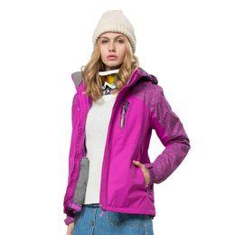 Wholesale-Woman Skiing Jacket Waterproof Winter Thermal Jacket Sport Jacket For Women Fashion 3 in 1 Ski Suit Women Casual Ski Jacket,5110