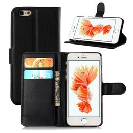 DHL Free Matte Leather Wallet Case for iPhone 5 5s 6 6s 6 plus 6s plus Book Wallet Stand Phone Cover