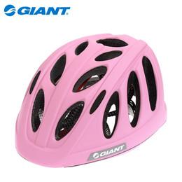Wholesale-100% Original New Giant Cycling Helmet Road Bike MTB Helmet with Anti-insect Net G801 M L, PInk, Blue, Black