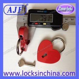 Wholesale AJF lovelock heart lock valentines Lock the wedding ceremony only you lock up my love