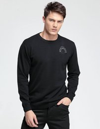 Wholesale 2015 Plus Size New Fashion High Quality Men s Sweater Pullover Slim Fit Casual Sweater Basic O neck Knitwear Clothing