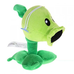 Plants VS Zombies Plush Toy Stuffed Animal - Peashooter 17CM 6.7Inch Tall