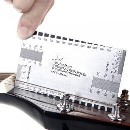 Wholesale String Action Ruler Gauge Tool in mm for Guitar Bass Mandolin Banjo I220
