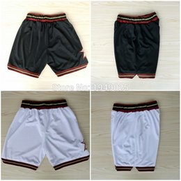 Wholesale Basketball Shorts Allen Iverson Nerlens Noel Shorts Stitched White Black Shorts
