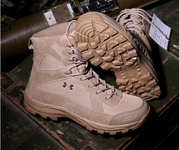 Wholesale SWAT Autumn Winter Men s Army Military Jungle Desert Tactical Combat Warm Boots Outdoor Hiking Shoes
