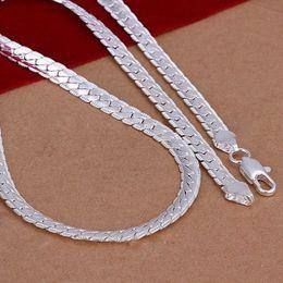 Wholesale Necklace mm Bijoux collier Chaine argent massif sterling quot