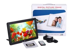Wholesale 2015 New inch Electronic Digital Photo Frame for picture mp3 movies via Remote Control Resolution x