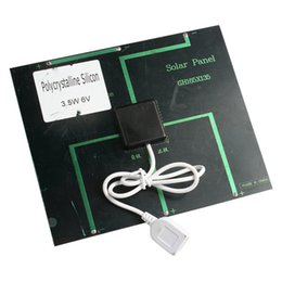 Wholesale 6v w MA Solar Panel USB Travel Battery Charger For IPhone Mobile Phone