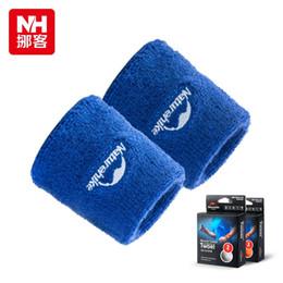 Brand Sweatband Sports Wrist Tennis Yoga Running Sport Sweat WristBand Punk Rock Biker Unisex Gym Sport Wrist Wrap -NatureHike