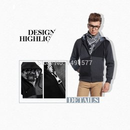 Fall-New Mens Casual Fit Outwear Short Suede Padded Winter Warm Coat Hoodie Jacket