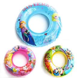 Wholesale 2015 New Princecs Mickey Frozen Swimming laps Pool Swim Ring Seat Float Boat with Wheel Horn Cartoon swim ring LJJH108