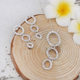 Wholesale-S567S# Summer Fashion 2015 Sale Silver Plated Brass Bijuterias Party Jewelry Sets Jewelry Set