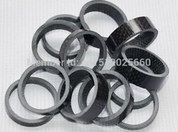 Wholesale mm mm Bicycle headset washer Full Carbon Fiber Bike parts fork into a bowl front riser pad ring gasket