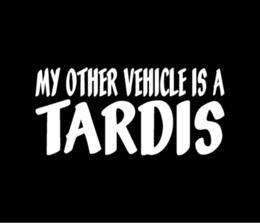 Wholesale MY OTHER VEHICLE IS A TARDIS Doctor Who Vinyl Decal Car Window Sticker