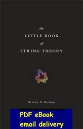 Wholesale The Little Book String Theory