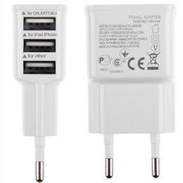 3 Ports EU Plug USB Wall AC Charger Adapter for Samsung Galaxy S5 S4 S3 S2 Note 4 for Apple iPhones